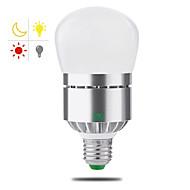 halpa LED-älylamput-YWXLIGHT® 1kpl 12W 1100-1200 lm E26/E27 LED-älyvalot 24 ledit SMD 2835 Smart Valaistuksen ohjaus Lämmin valkoinen Kylmä valkoinen