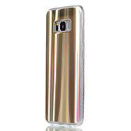 abordables Galaxy S7 Carcasas / Fundas-Funda Para Samsung Galaxy S8 Plus S8 Cromado Líneas / Olas Gradiente de Color Suave para Samsung Galaxy