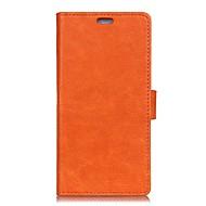 halpa Puhelimen kuoret-Etui Käyttötarkoitus LG K8 LG LG K4 LG K10 LG G5 V30 V20 Korttikotelo Lomapkko Flip Suojakuori Yhtenäinen väri Kova PU-nahka varten LG X