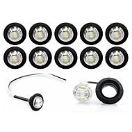 abordables -SENCART Ampoules électriques 0.5W LED SMD 3 Clignotants For Universel Toutes les Années