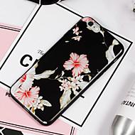 Недорогие Кейсы для iPhone 8-Кейс для Назначение Apple iPhone 8 iPhone 8 Plus С узором Кейс на заднюю панель Цветы Мягкий ТПУ для iPhone 8 Pluss iPhone 8 iPhone 7
