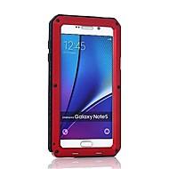 Недорогие Чехлы и кейсы для Galaxy Note-Кейс для Назначение SSamsung Galaxy Note 8 / Note 5 Защита от удара Чехол броня Твердый Металл для Note 8 / Note 5 / Note 4