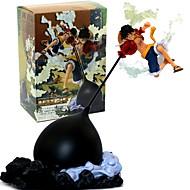 お買い得  アニメ・アクションフィギュア-アニメのアクションフィギュア に触発さ ワンピース Monkey D. Luffy 26 cm モデルのおもちゃ 人形玩具