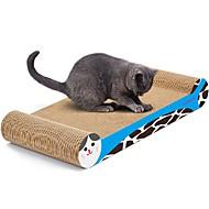 お買い得  -スクラッチアート 紙、ペーパークラフト アートプリント 多色 スクラッチマット 体重を減らす キャットニップ 高品質紙 段ボール紙 用途 猫用おもちゃ