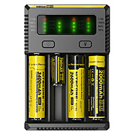 cheap Flashlights, Lanterns & Lights-Nitecore NEW-I4 Battery Charger Flashlight Accessories Portable Professional High Quality Plastic for