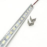 billige Lysstænger-ZDM® 72 lysdioder 1x Hard Light Strip Varm hvid Kold hvid DC 12V