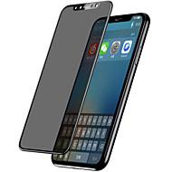 Недорогие Защитные плёнки для экрана iPhone-Защитная плёнка для экрана Apple для iPhone X Закаленное стекло 1 ед. Защитная пленка Защитная пленка на всё устройство Защитная пленка