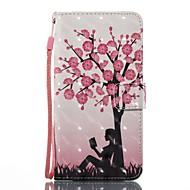 Недорогие Чехлы и кейсы для Galaxy J-Кейс для Назначение SSamsung Galaxy J5 (2017) J3 (2017) Кошелек Бумажник для карт со стендом Флип Магнитный С узором Чехол дерево Твердый