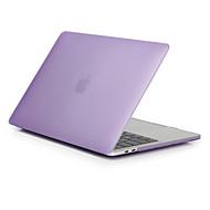 """お買い得  MacBook 用ケース/バッグ/スリーブ-MacBook ケース のために つや消し ソリッド ポリカーボネート 新MacBook Pro 15"""" / 新MacBook Pro 13"""" / MacBook Pro 15インチ"""