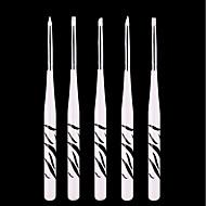 お買い得  ヘア、ネイル-5本のネイルアートpicea meyeriストライプペン
