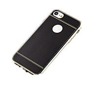 Недорогие Кейсы для iPhone 8-Кейс для Назначение Apple iPhone X iPhone 8 Покрытие Ультратонкий Кейс на заднюю панель Сплошной цвет Мягкий ТПУ для iPhone 8 Pluss