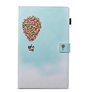 preiswerte Tablet Zubehör-Hülle Für Amazon Geldbeutel / mit Halterung / Flipbare Hülle Ganzkörper-Gehäuse Balloon Hart PU-Leder für Kindle Fire hd 10(7th Generation, 2017 Release)