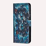 Недорогие Чехлы и кейсы для Galaxy S9-Кейс для Назначение SSamsung Galaxy S9 S9 Plus Бумажник для карт Кошелек со стендом Флип Магнитный Чехол Кот Твердый Кожа PU для S9 Plus