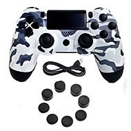 abordables Accesorios para PS4-Sin Cable Control de Videojuego Para PS4 ,  Empuñadura de Juego Control de Videojuego Silicona / ABS 1 pcs unidad