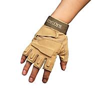 venkovní černé jestřábi taktické rukavice polovičně prstové rukavice protiskluzové opotřebení