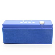 お買い得  スピーカー-NR-2015 Bluetoothスピーカー ブルートゥース 2.1 USB TFカードスロット ブックシェルフスピーカー ブラック グレー Brown レッド ブルー