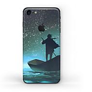 Недорогие Защитные плёнки для экрана iPhone-Наклейки для Защита от царапин Лолита Узор PVC