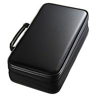 お買い得  MacBook 用ケース/バッグ/スリーブ-アクセサリー収納バッグ ソリッド 生地 のために 96 Capacity CD DVD Case