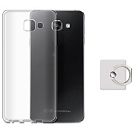 Недорогие Чехлы и кейсы для Galaxy А-Кейс для Назначение Samsung Кольца-держатели Кейс на заднюю панель Сплошной цвет Мягкий ТПУ для A7 (2017) A7(2016) A7