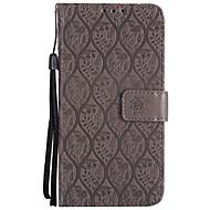 お買い得  携帯電話ケース-ケース 用途 Sony Xperia XZ / Xperia XA1 ウォレット / カードホルダー / スタンド付き フルボディーケース ソリッド ハード PUレザー のために Z4 Mini / Z5 Mini / Sony Xperia XZ