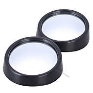 cheap Rear View Monitor-2pcs/lot universal driver 2 side wide angle round convex car vehicle mirror blind spot auto rearview for all car
