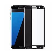 Недорогие Чехлы и кейсы для Galaxy S-Защитная плёнка для экрана Samsung Galaxy для S7 edge Закаленное стекло 1 ед. Защитная пленка для экрана 3D закругленные углы Уровень