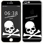 Недорогие Защитные плёнки для экрана iPhone-1 ед. Наклейки для Защита от царапин Черепа Узор PVC iPhone 6s/6