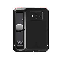 お買い得  -ケース 用途 Huawei Mate 10 水/汚れ/ショックプルーフ フルボディーケース 純色 ハード メタル のために Mate 10