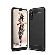 お買い得  携帯電話ケース-ケース 用途 Huawei P20 lite P20 耐衝撃 バックカバー 純色 ソフト TPU のために Huawei P20 lite Huawei P20 Pro Huawei P20 P10 Plus P10 Lite P10 P8 Lite (2017)