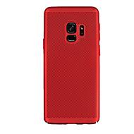 Недорогие Чехлы и кейсы для Galaxy S9 Plus-Кейс для Назначение SSamsung Galaxy S9 S9 Plus Матовое Кейс на заднюю панель Сплошной цвет Твердый ПК для S9 Plus S9 S8 Plus S8 S7 edge S7