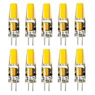 お買い得  -BRELONG® 10個 3W 800lm G4 LED2本ピン電球 1 LEDビーズ 温白色 ホワイト