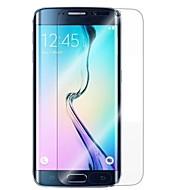Недорогие Чехлы и кейсы для Galaxy S-Защитная плёнка для экрана для Samsung Galaxy S7 edge TPU 1 ед. Защитная пленка для экрана HD / 2.5D закругленные углы