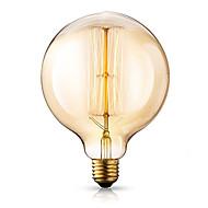 halpa Hehkulamppu-1kpl 40W E26/E27 G125 2300 K Himmennetty Vintage Edison-hehkulamppu 220V-240V V