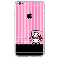 Недорогие Защитные плёнки для экрана iPhone-1 ед. Наклейки для Защита от царапин Узор PVC iPhone 6s Plus/6 Plus