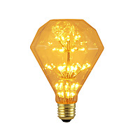 お買い得  LED ボール型電球-BRELONG® 1個 3W 300lm E26 / E27 LEDボール型電球 47 LEDビーズ SMD 星の 装飾用 イエロー 220-240V