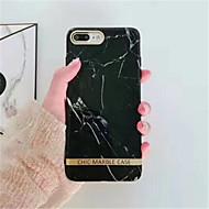 Недорогие Кейсы для iPhone 8-Кейс для Назначение Apple iPhone X iPhone 7 Plus С узором Кейс на заднюю панель Мрамор Мягкий ТПУ для iPhone X iPhone 8 Pluss iPhone 8