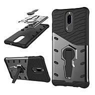 お買い得  携帯電話ケース-ケース 用途 Huawei Mate 10 lite 耐衝撃 / スタンド付き / 360°ローテーション バックカバー 鎧 ハード PC のために Mate 10 lite