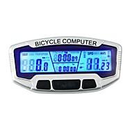 economico Accessori per Ciclismo e bicicletta-SD-558A Computerino da bici Cronometro controluce LCD Velocimetro Con filo Tachimetro All'aperto Ciclismo