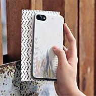 Кейс для Назначение Apple iPhone 6s iPhone 7 Plus С узором Кейс на заднюю панель Мультипликация Мягкий ТПУ для iPhone 8 Pluss iPhone 8