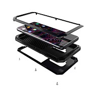 Недорогие Чехлы и кейсы для Galaxy S-Кейс для Назначение SSamsung Galaxy S9 S9 Plus Защита от удара броня Чехол броня Твердый Металл для S9 Plus S9 S8 Plus S8 S7 edge S7 S6