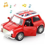 abordables Coches y miniaturas de juguete-Sound light Collection Brinquedos Car Vehicle Toys Coches de juguete Coche clásico Juguetes Coche Música Vehículos Exquisito Aleación de