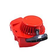 Недорогие Запчасти для мотоциклов и квадроциклов-модифицированный красный 2-тактный четырехдверный мини-моторный карманный байк стартер стартер 33 49cc