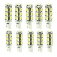 Недорогие Сигнальные огни для авто-SENCART G4 / BA9S / T10 Автомобиль / Мотоцикл Лампы 2.5W SMD 5050 180-260lm 13 Светодиодная лампа Лампа поворотного сигнала For