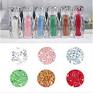 1 Nail Jewelry Crystal Fashionable Jewelry Crystal Cute Crystal / Rhinestone Style DIY Daily Evening Party Prom DIY