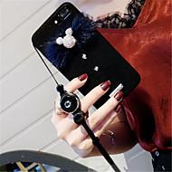 Недорогие Кейсы для iPhone 8-Кейс для Назначение Apple iPhone 7 Plus iPhone 7 Стразы С узором Кейс на заднюю панель Животное Твердый Кожа PU для iPhone 8 Pluss iPhone