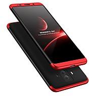 お買い得  携帯電話ケース-ケース 用途 Huawei Mate 10 pro Mate 10 lite 耐衝撃 超薄型 フルボディーケース 純色 ハード プラスチック のために Mate 10 Mate 10 pro Mate 10 lite Mate 9