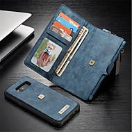 Недорогие Чехлы и кейсы для Galaxy S8 Plus-Кейс для Назначение SSamsung Galaxy S8 Plus S8 Бумажник для карт Кошелек Защита от удара со стендом Флип Чехол Сплошной цвет Твердый