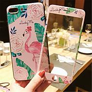 Недорогие Кейсы для iPhone 8-Кейс для Назначение Apple iPhone 6 Plus iPhone 7 Plus С узором Кейс на заднюю панель Мультипликация Мягкий Силикон для iPhone 8 Pluss