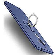 お買い得  携帯電話ケース-ケース 用途 Huawei Mate 9 耐衝撃 バンカーリング バックカバー 純色 ハード プラスチック のために Mate 9