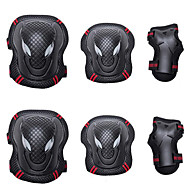 cheap Exercise & Fitness-Knee Pads + Elbow Pads + Wrist Pads for Inline Skates / Hoverboard / Roller Skates Breathable / Protective 6 pack